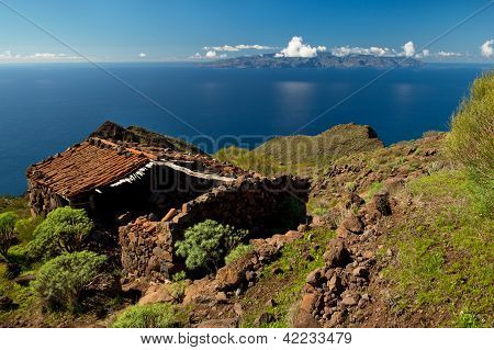 View to Gomera