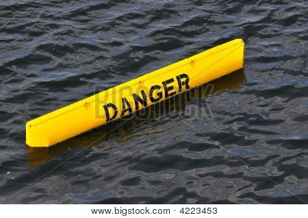 Yellow Danger Sign