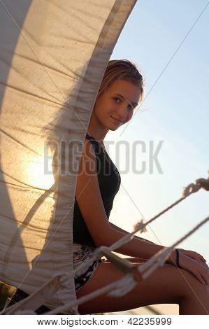 Charming Teen Girl