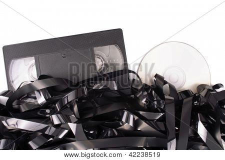 Photo of Cassete film to DVD
