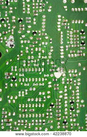 Photo of Circuit board solders