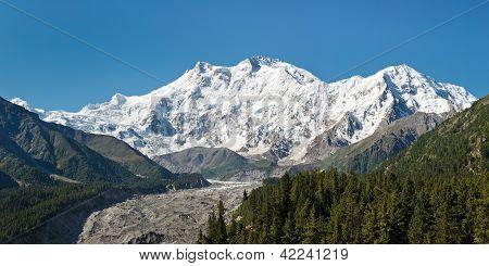 Nanga Parbat Panorama, Himalaya, Pakistan