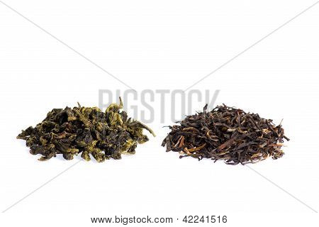 Green Tea And Black Tea