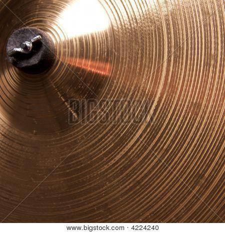 Cymbal Close Up