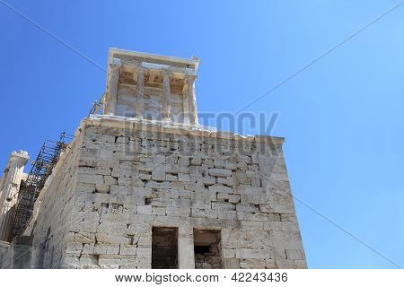 Landscape Of Temple Of Athena Nike