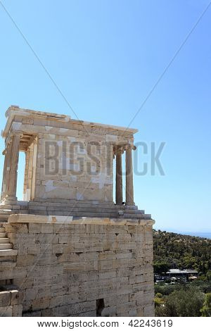 View Of Temple Of Athena Nike