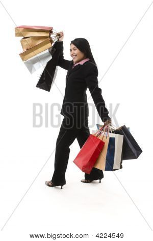 Shopping Series - Business Woman On The Go