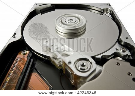 Hard Disk And Fingerprint