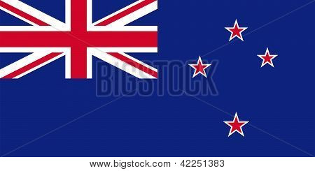 Flag Of New Zealand - Blue Ensign.