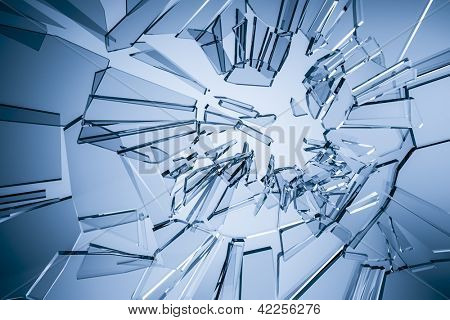 An image of a stylish glass background