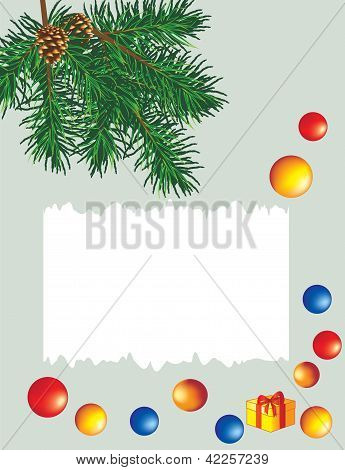 Vector Christmas [New Year's] card