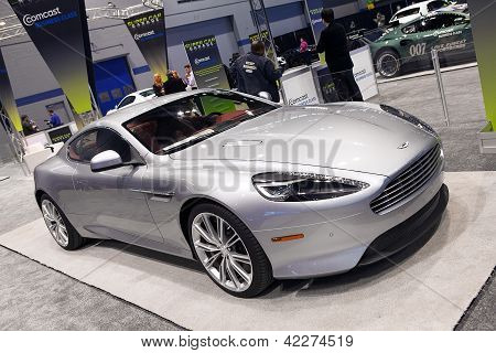 Aston Martin Db9 2013 Chicago Auto Show