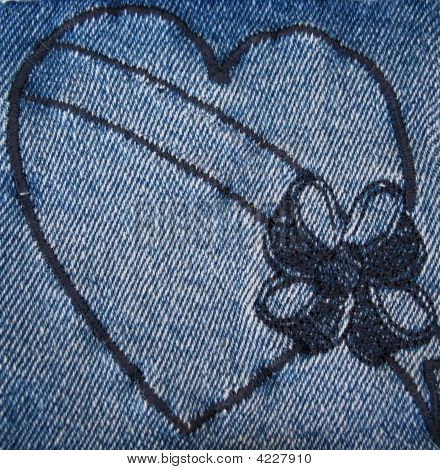 Denim Heart 4
