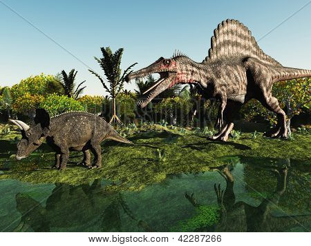 Hunting the dinosaur
