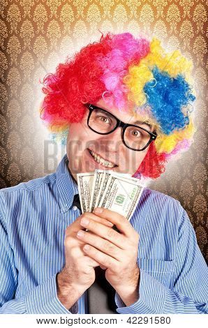 Clown With Money