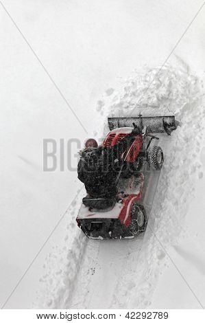 Small Snow Plough