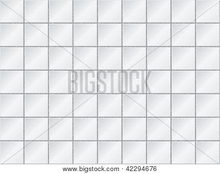 Vector Background - Wand mit Fliesen abgedeckt sind