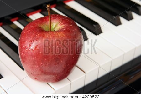 Apple And Piano