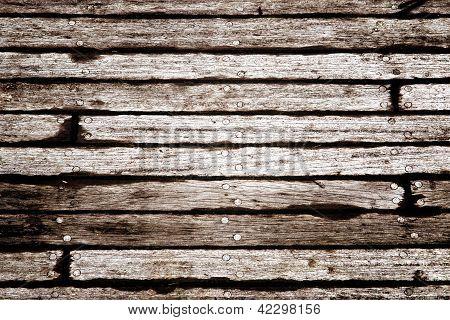Schiffsplanken Textur Hintergrund