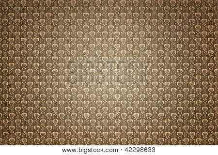 Retro Tapete kaffeebraun Textur Hintergrund