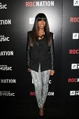 LOS ANGELES - FEB 9:  Kelly Rowland arrives at the ROC NATION Annual Pre-Grammy Brunch at the Soho H