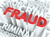 stock photo of pronunciation  - Fraud Background Design - JPG