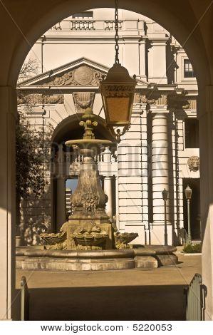 Courtyard - Pasadena City Hall