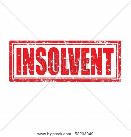 Insolvent-stamp