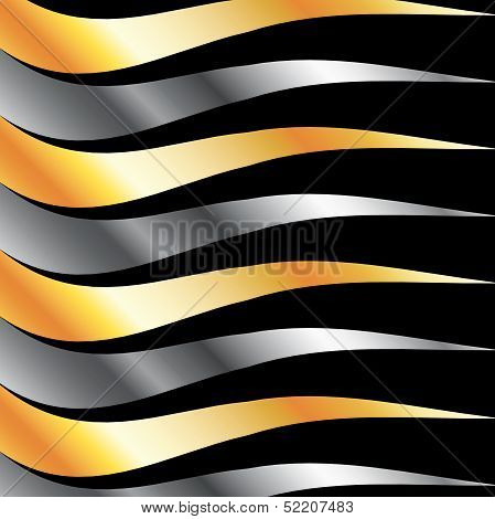 High grade metal wave background