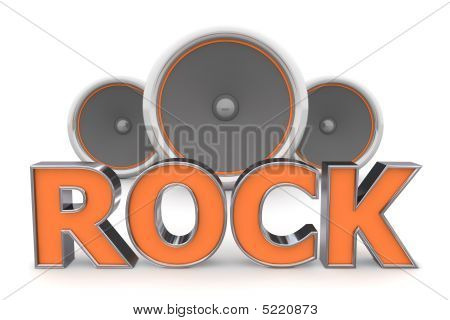 Speakers Rock – Orange