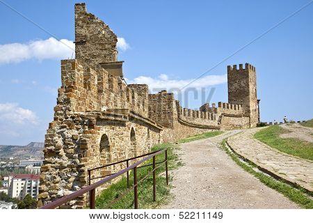 Genuesskaya Fortress