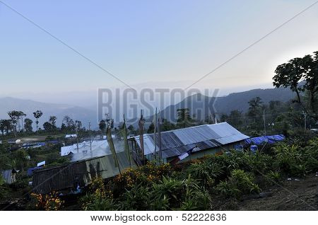 Houses Of Silerygaon Village, Sikkim