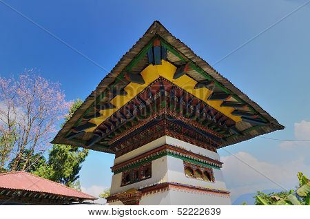 Monastry Architecture, Sillery Gaon, Sikkim