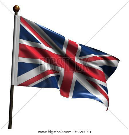 High Resolution United Kingdom Flag