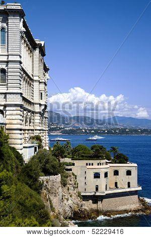 Oceanographic Museum in principality Monaco