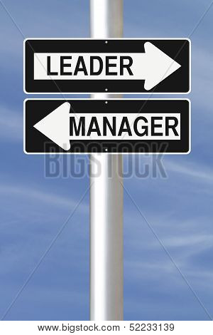 Leader or Manager