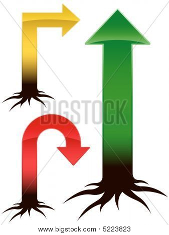 Arrow set trend tree