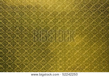 Yellow Tiled Glass