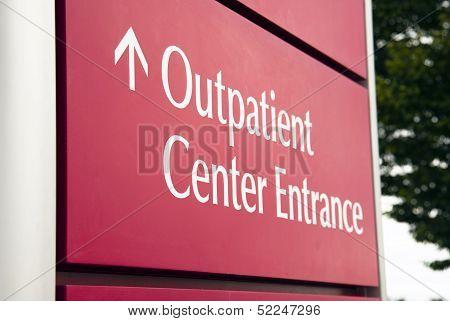 Big Red Hospital Outpatient Center Emergency Entrance Health Care