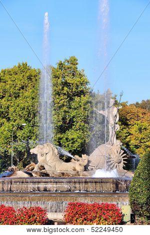 Madrid Neptune