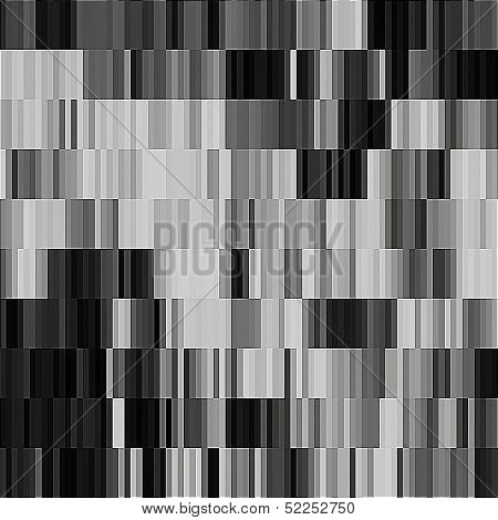 art abstract geometric textured background in black and white colors, seamless pattern