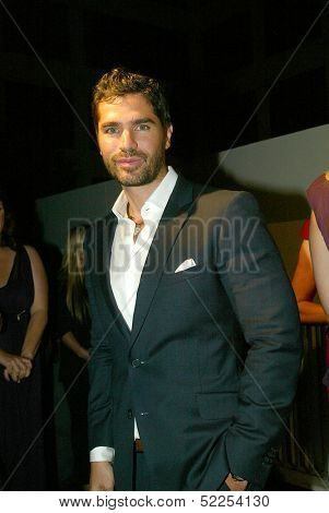 HOLLYWOOD -  Eduardo Verastegui arrives at the 2013 Philhellenes Gala benefiting Praksis at the SkyBar on October 9, 2013 at the Mondrian Los Angeles, West Hollywood, CA.