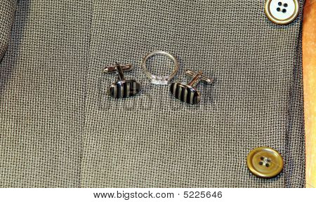 Cuff Links And A Ring
