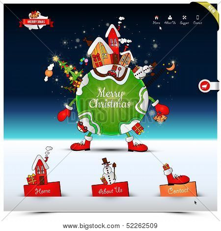 Christmas Night Website Template