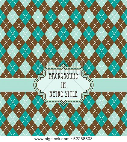 vector argyle pattern