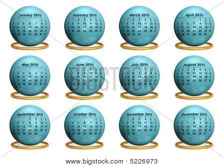 2010 Original Calendar.