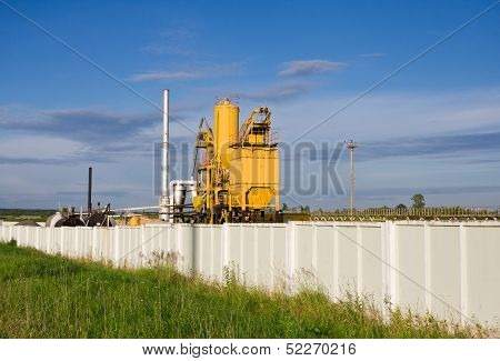 Asphalt And Concrete Factory