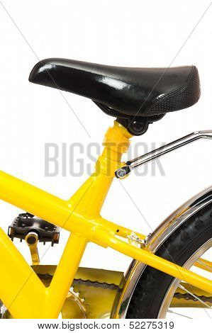 bicycle seat isolated