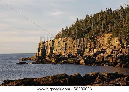 Otter Cliff at Day Break