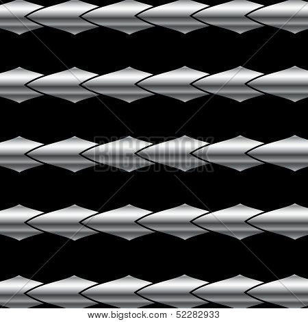 High grade stainless steel background